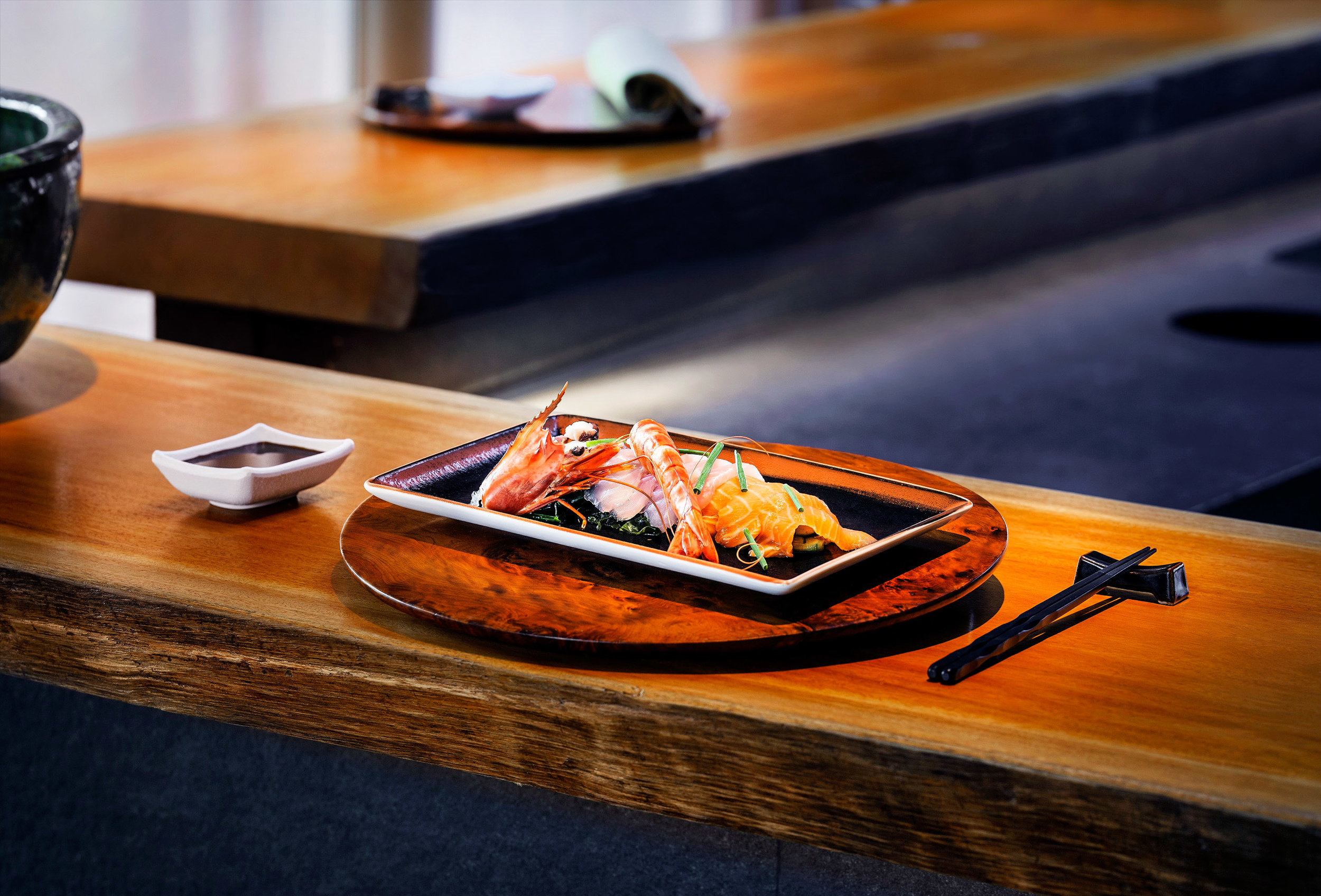 As well as traditional North African food, there is also an authentic Japanese restaurant in Amanjena.