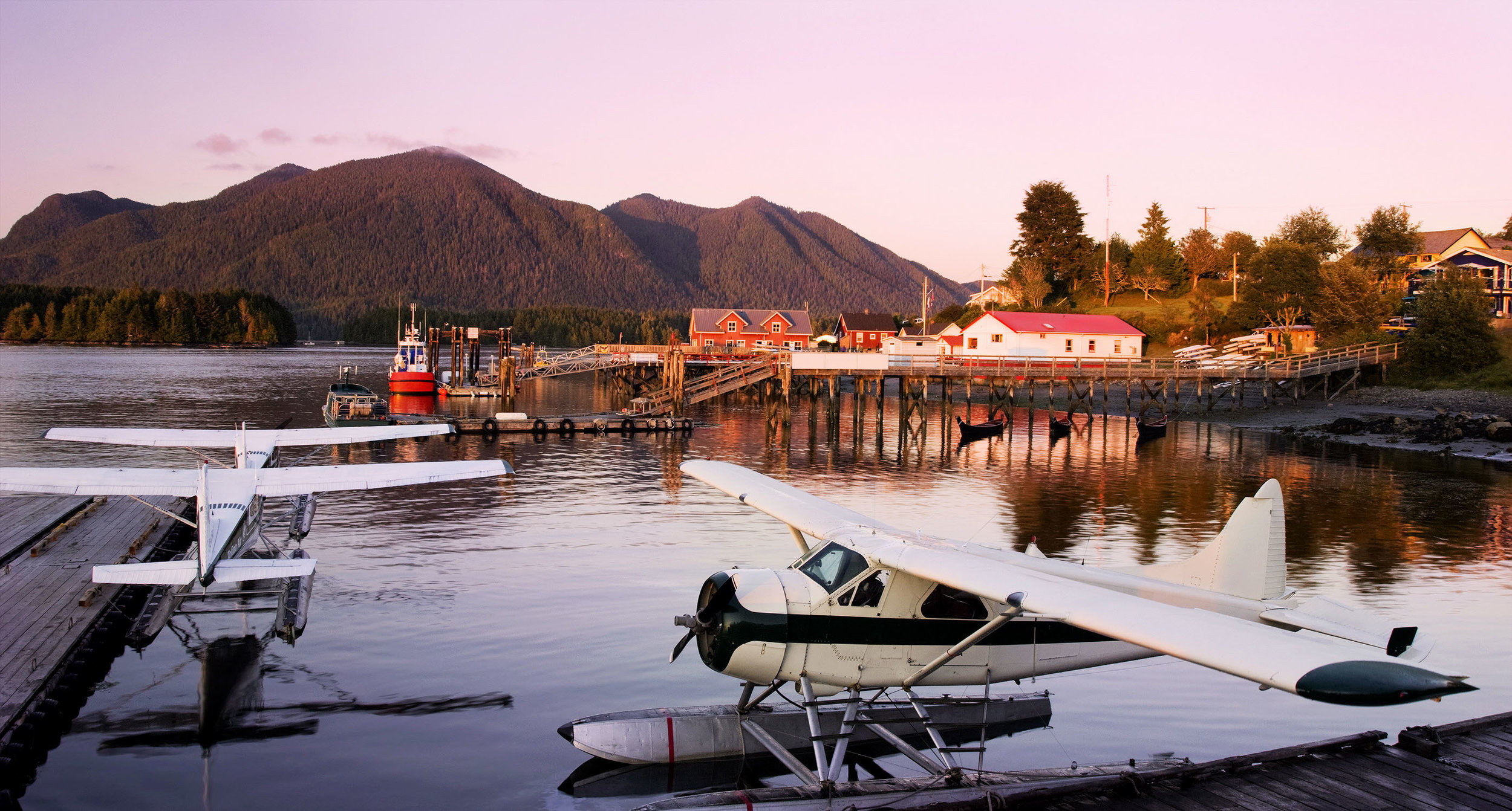 There is no better way to take in the beauty of the region than by taking a seaplane to Tofino.