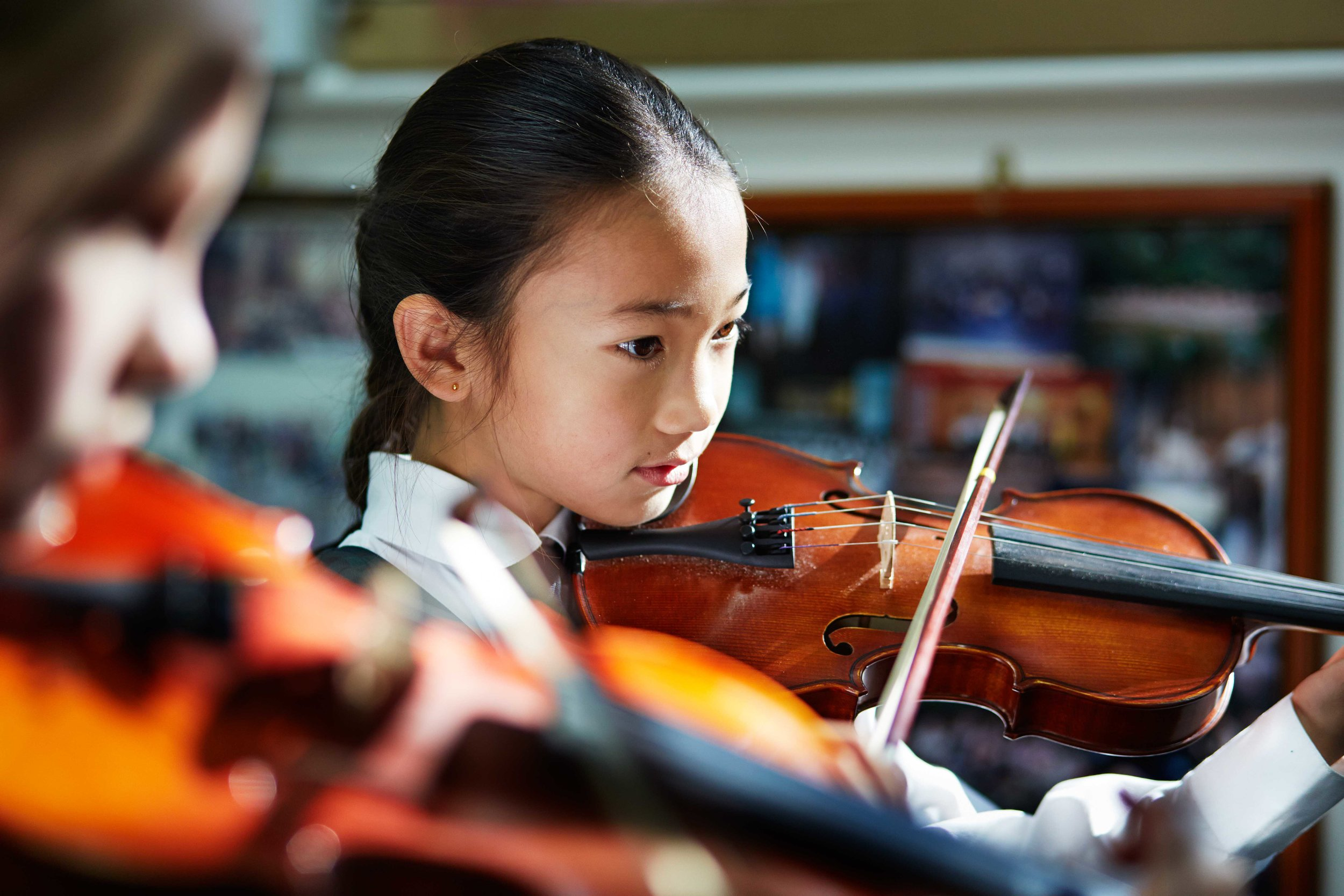 As part of PLC Sydney's rich educational offering, they employ an Artist in Residence, Mathematician in Residence and Composer in Residence, so students are exposed to more than just a utilitarian education.