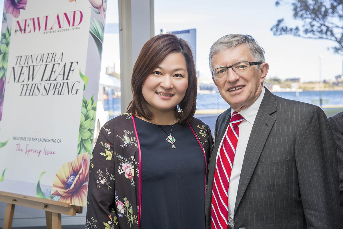 It was in the spirit of friendship and also as a celebration of the Australian way of life that the Newland family came together to celebrate the unveiling of the new look.