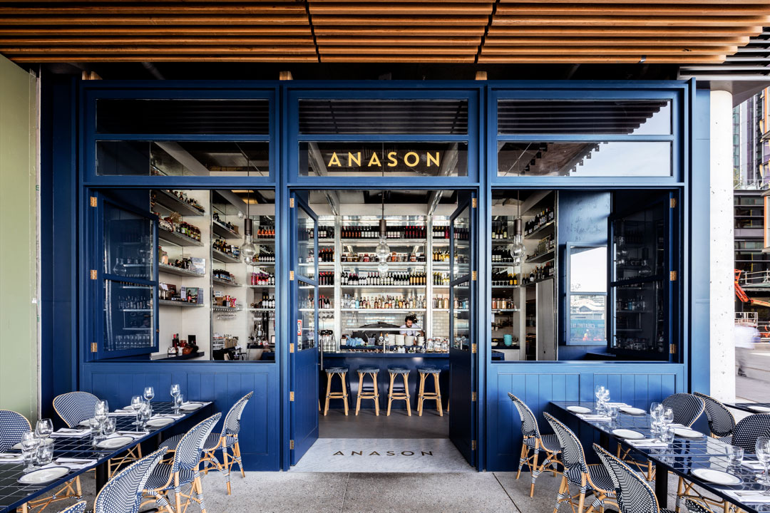 - 2016 Restaurant and Catering Association Awards - Best New Restaurant winner Anason has brought the concept of a traditional Turkish meyhane to Sydney.Anason5/23 Barangaroo Avenue ,Barangaroo 200002 9188 1581