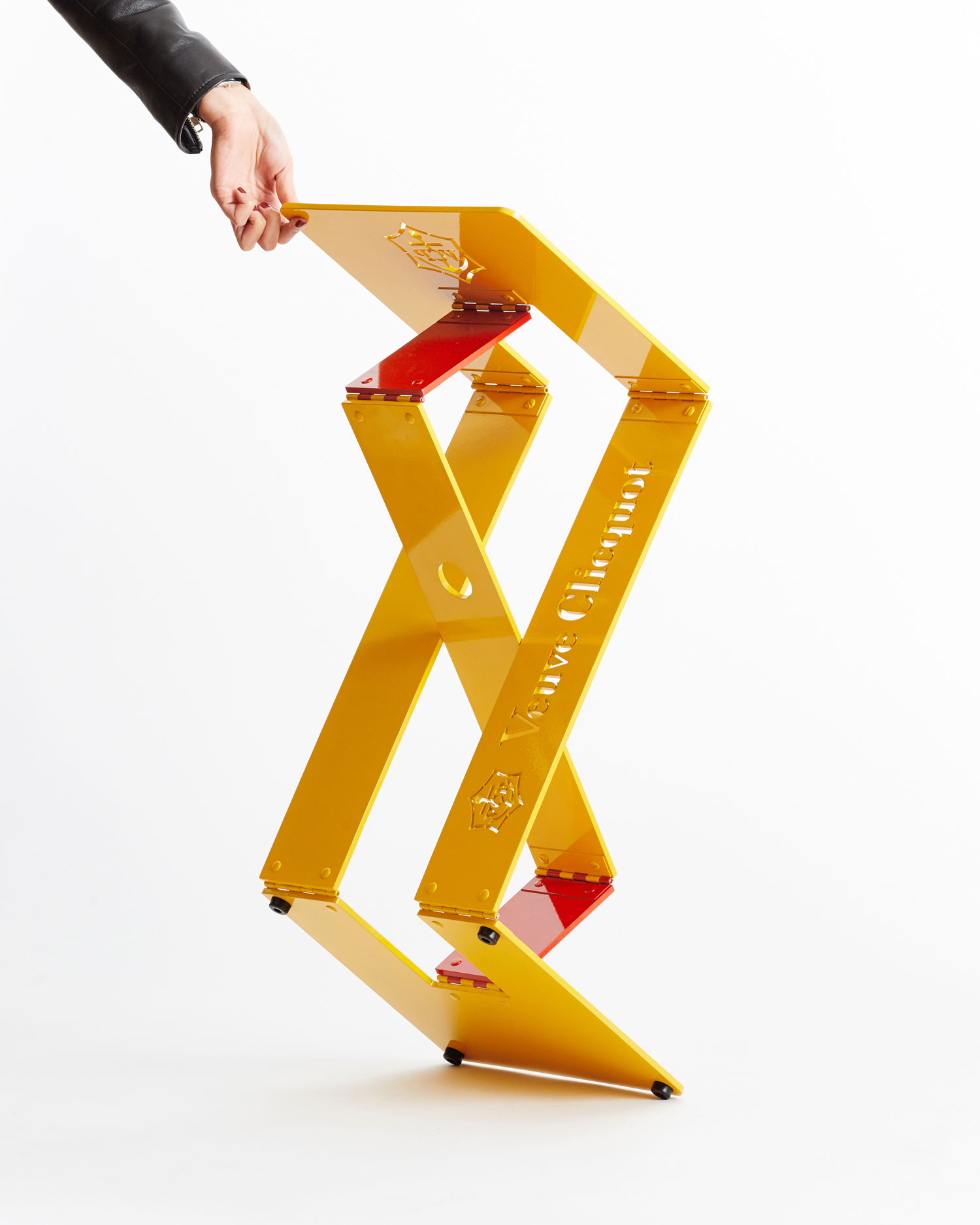 Riddling Stool for Veuve Clicquot‭.‬