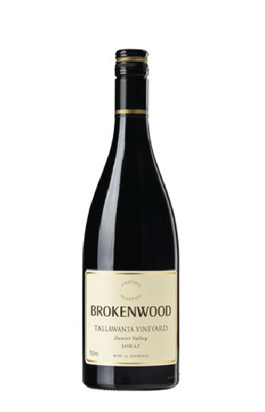 Brokenwood Wines  A true Hunter Valley Shiraz on all accounts, lifted cool year aromas of red ginger and spice with noticeable char oak and medium density colour. At 13% alcohol, the wine has a medium-bodied palate with plenty of earthy, bramble notes. Red cherry fruit characters, fruit tannin and the oak at this early stage is noticeable but not obtrusive. A wine that is drinking well now but will age gracefully.