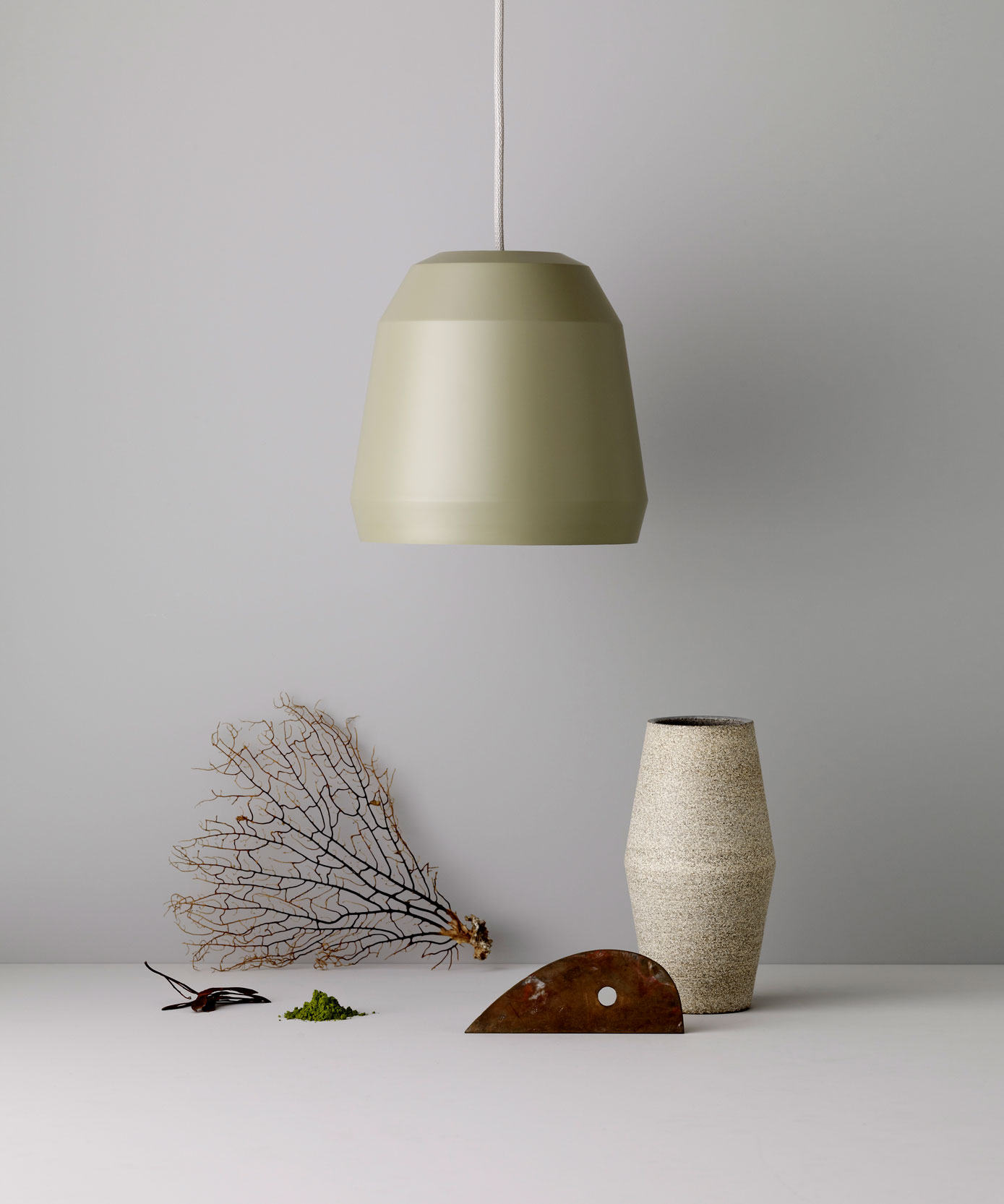 Mingus /Pendant in two sizes, six dimmed shades of colour   Lightyears, 2012.