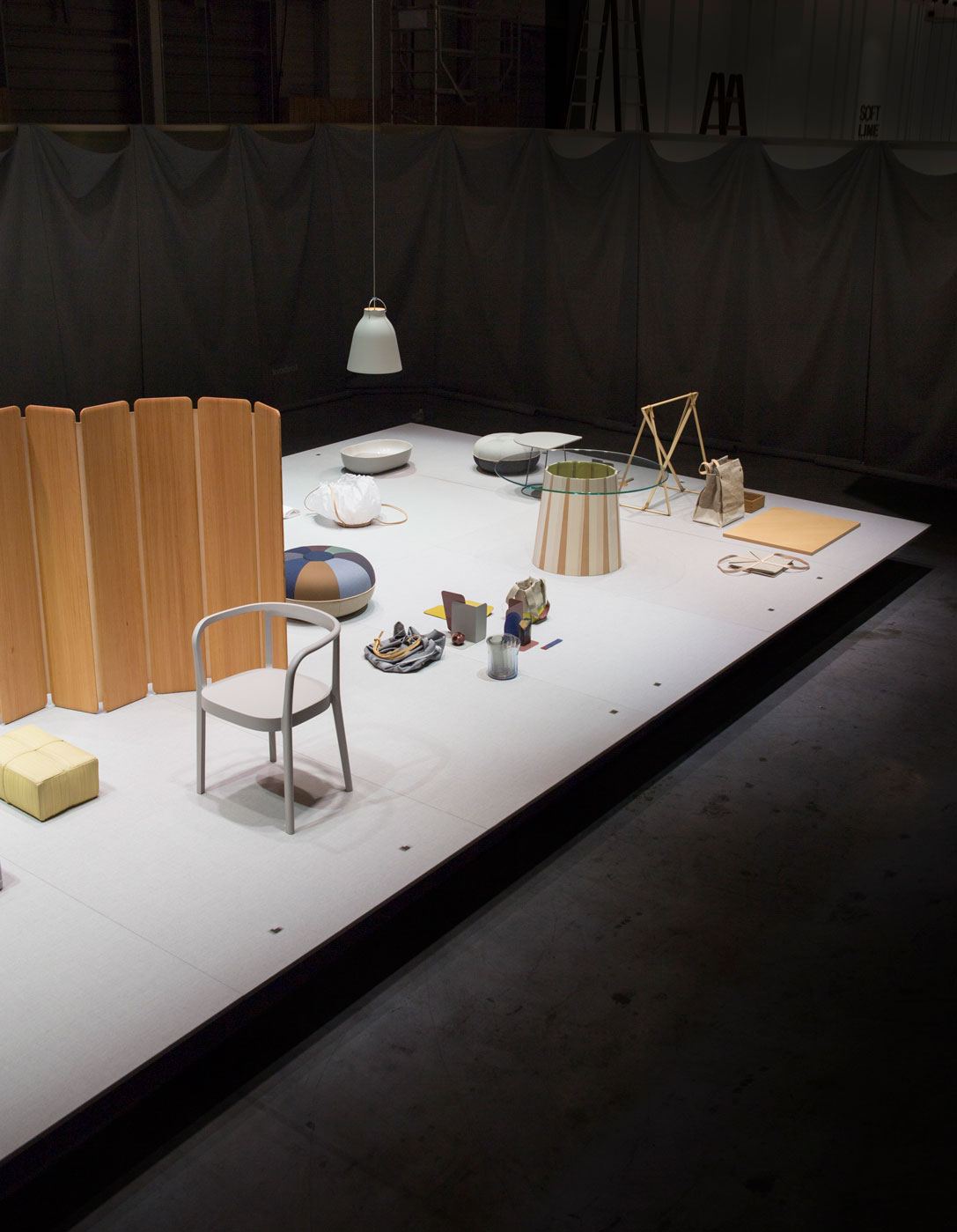 The exhibition 'CECILIE MANZ - OBJECTS' showcasing works of Cecilie Manz at Maison & Objet 2018.