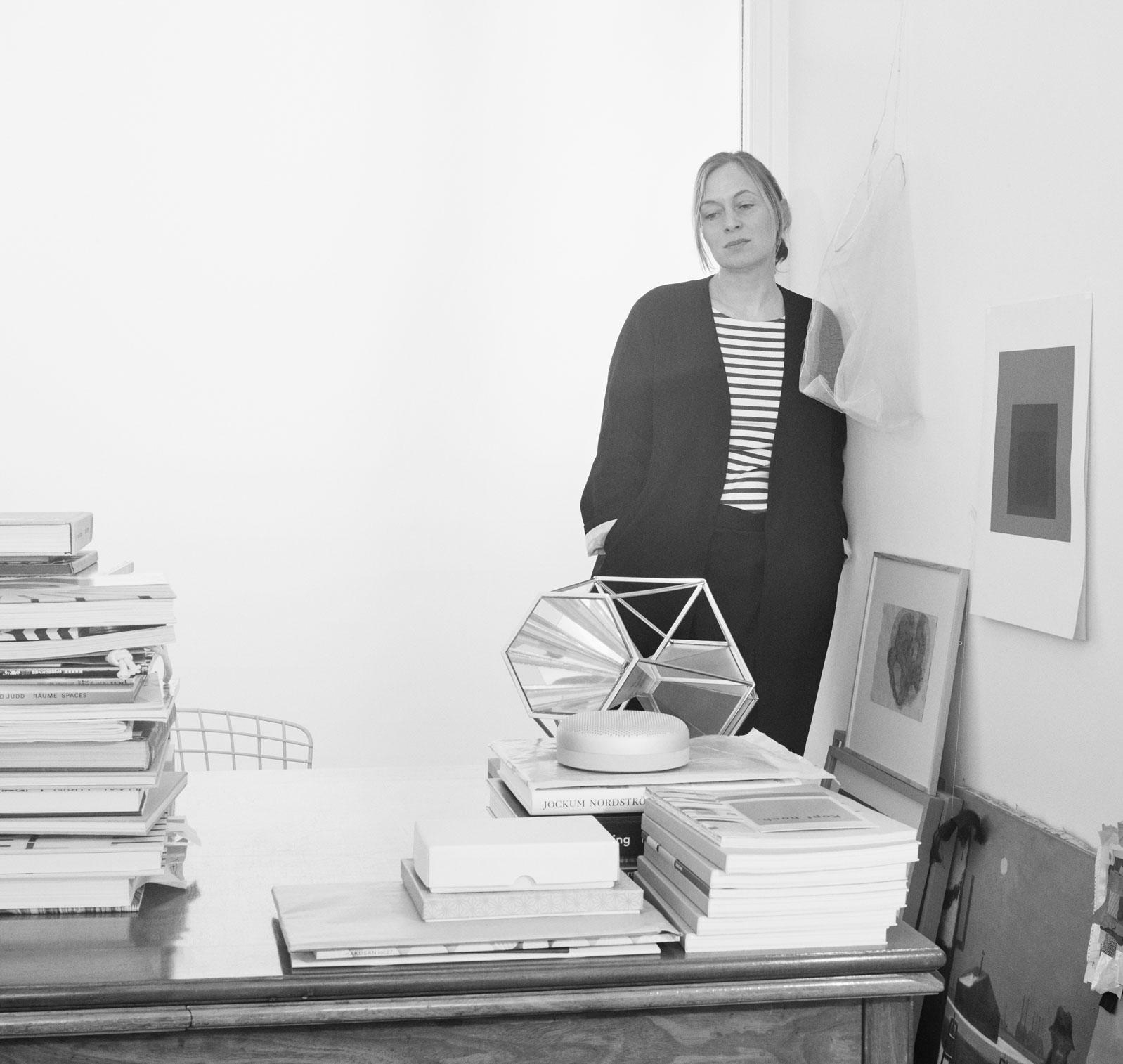 Cecilie in her Copenhagen studio.