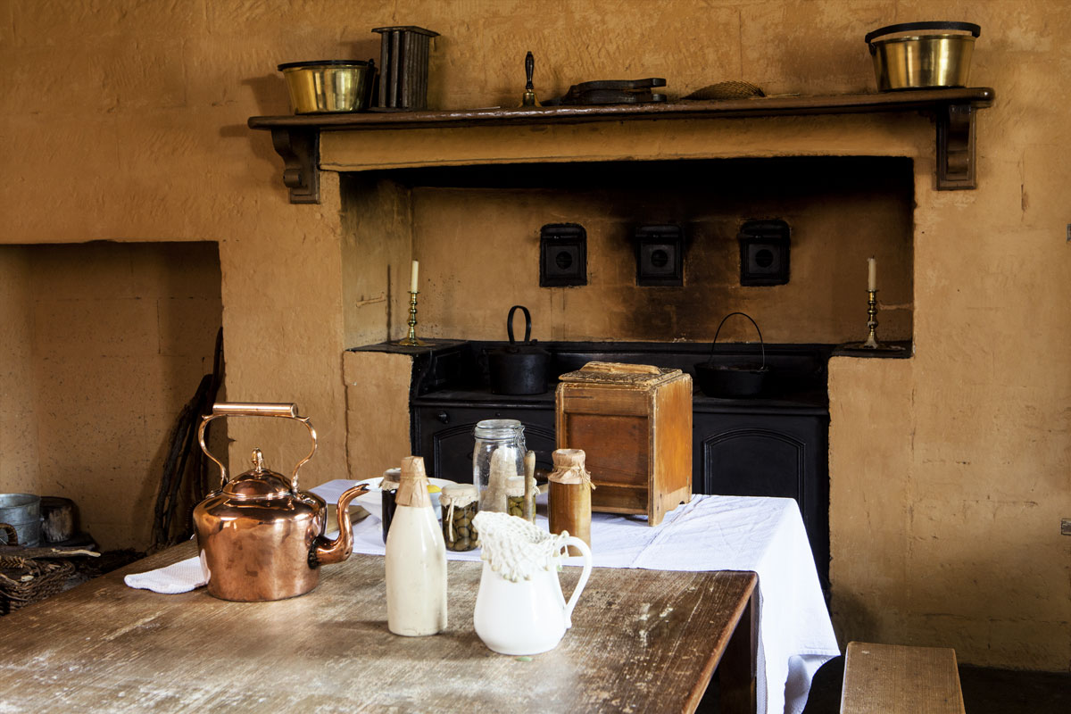 Elizabeth Farm kitchen (c) James Horan for Sydney Living Museums