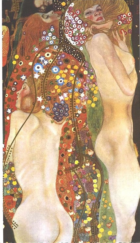 Klimt Serpent d'eau