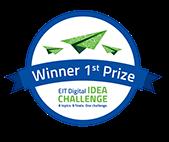 1st prize EIT Digital Idea Challenge