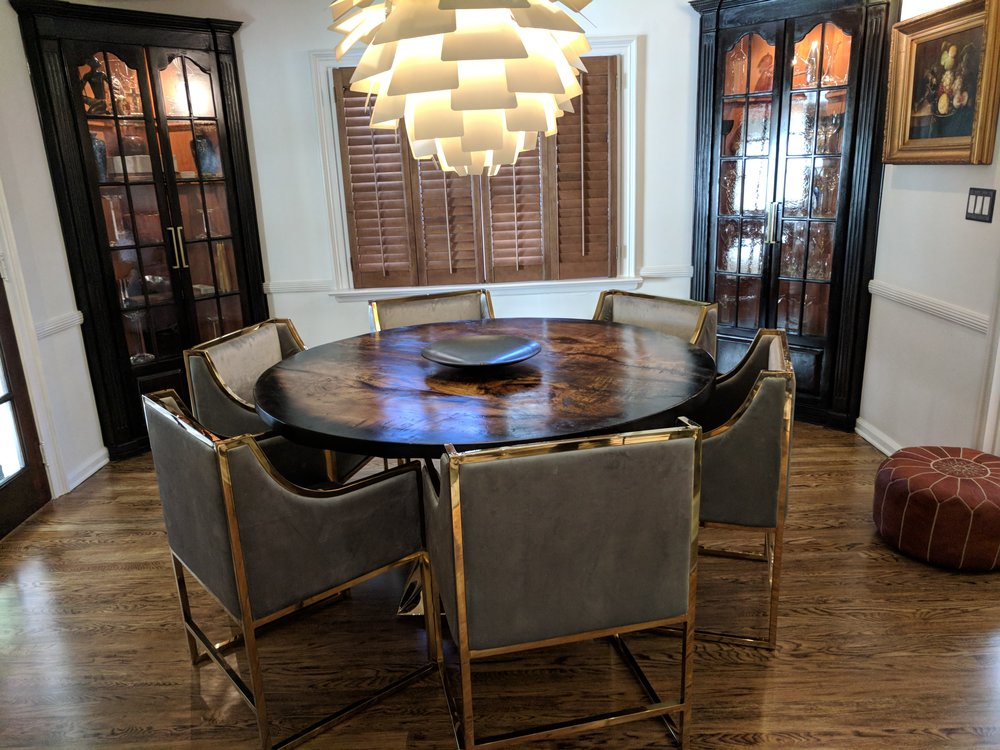Wood dining tables in NJ CT PA NY LI