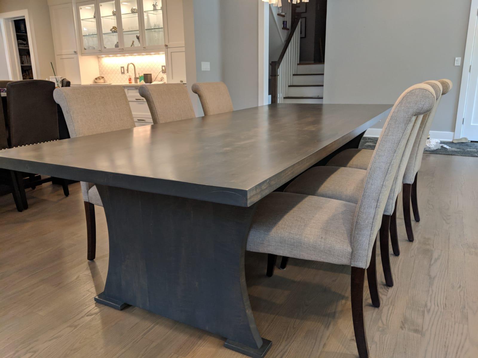 Custom wood table tops NJ NY CT PA LI