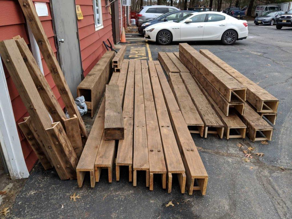 Wood beam order