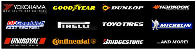 Extensive range of tyres in Stock -