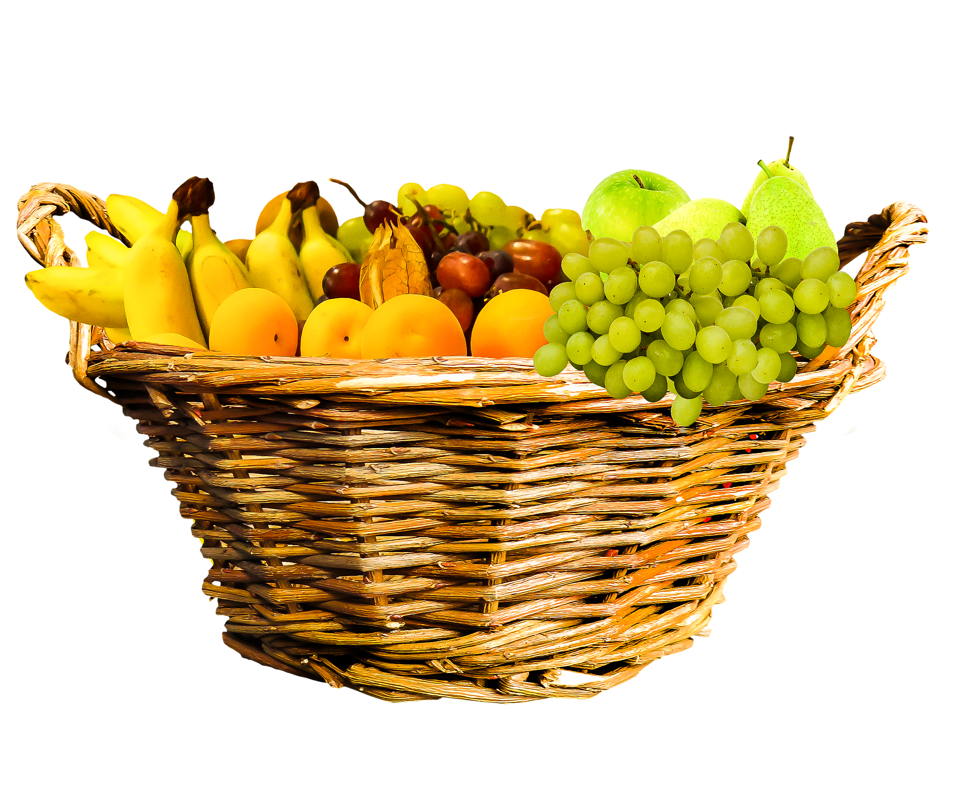 While fruit can be a good option, an entire basket of fruit may not be.