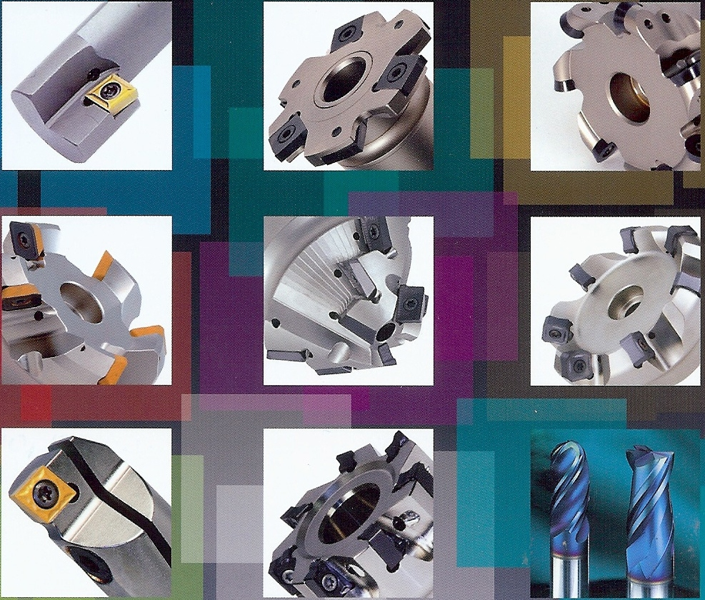 Power Milling - Power Metal Milling for many milling operations as well as back machining,spotfacing and solution tools like radius milling, chamfer milling, etc. Our premium range of solid carbide boring bars with thro coolant are chrome coated with a setting scale for performance boring, available as economical sets and as single bars.