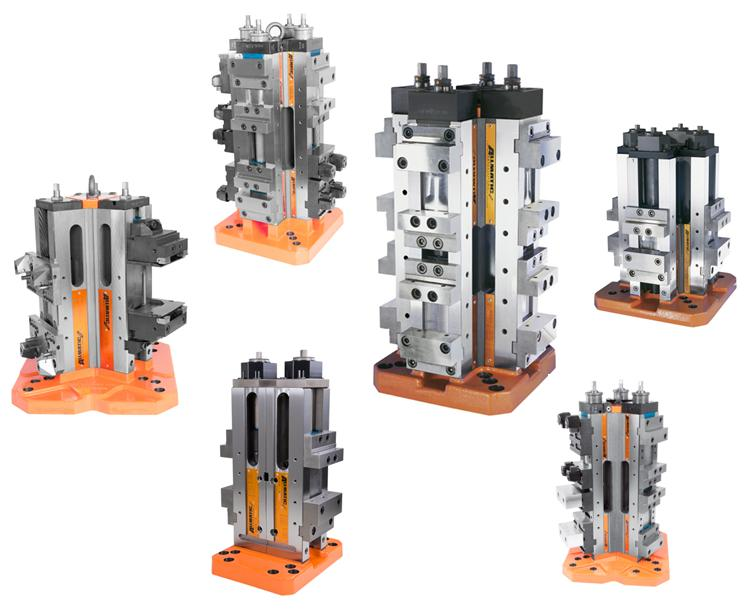 Single or in set-ups, Allmatic workholding solutions for all.