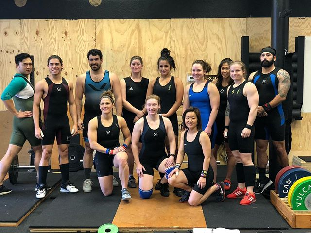 Now that's a Singlet Saturday 🏋️♀️🏋️♂️ Nice work everyone - now on to the competitions!! #PRtotals #PRlifts #singletsaturday #northdallasbarbell