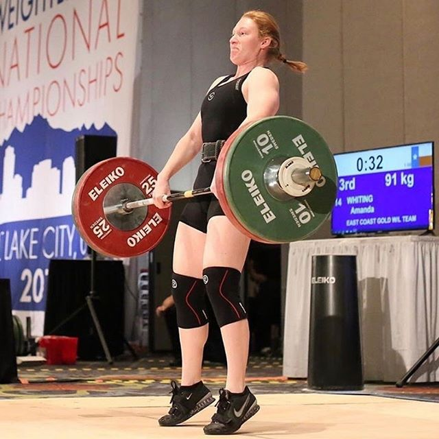 Good luck to Coach Amanda this weekend as she lifts in the American Open Series 2!