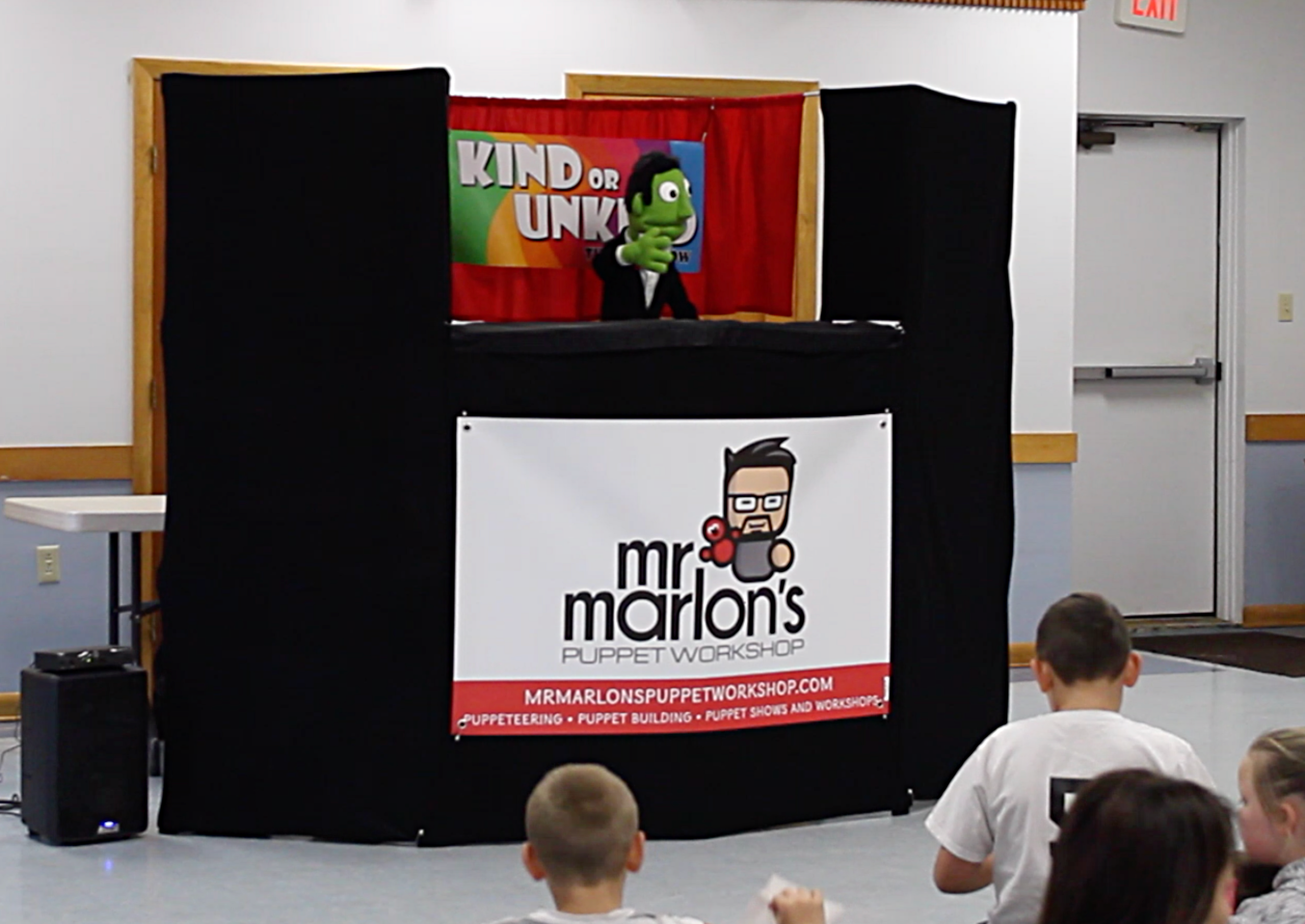 Mr. Marlon's Puppet Workshop is available for any occasion.