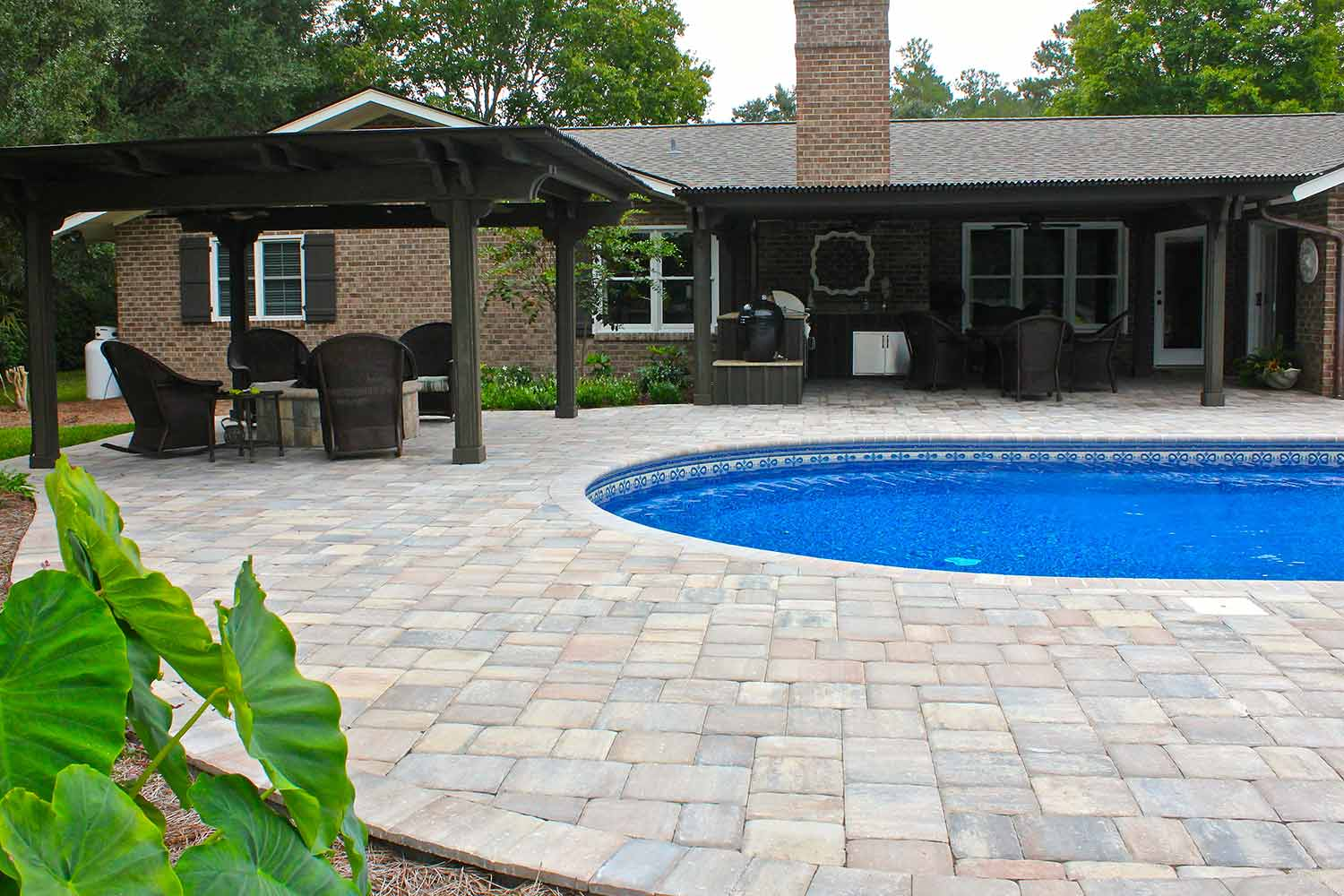 Pool Deck Pavers Beaufort SC
