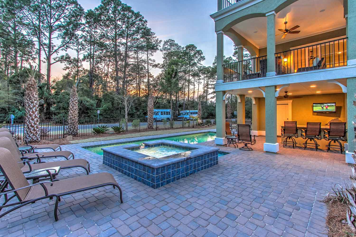 Cobble Stone Pool Deck Bluffton SC