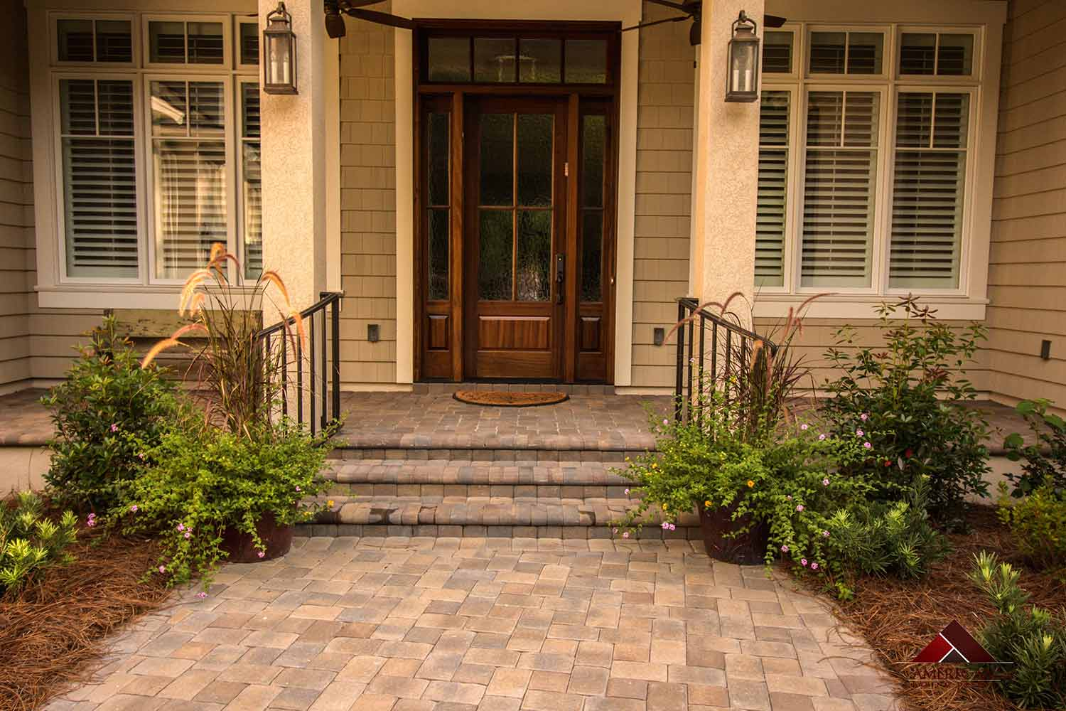 Cobble Paver Step Ideas Bluffton SC