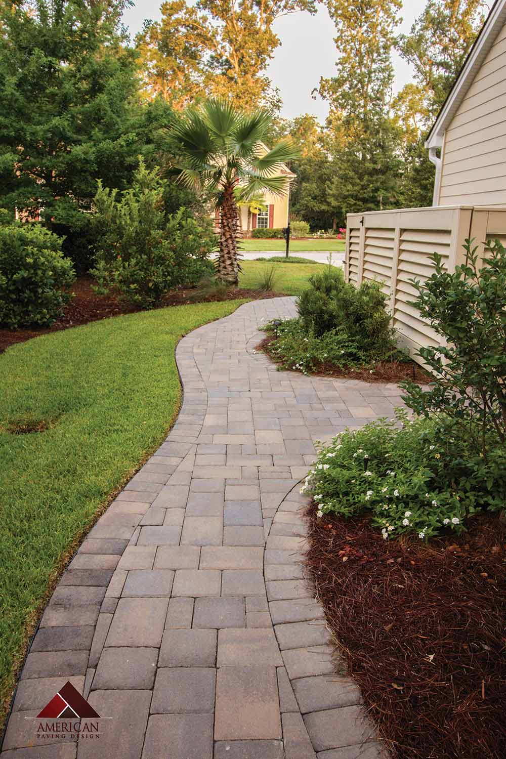 Cobble Paver Walkway Designs Bluffton SC