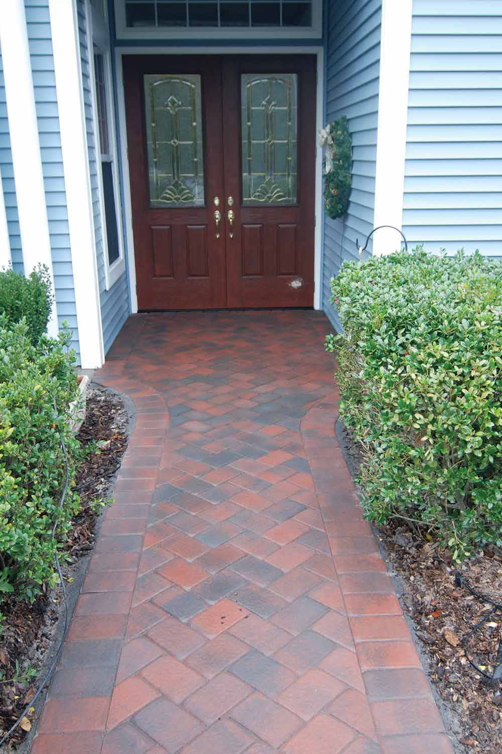 Installing Brick Paver Walkways Bluffton SC