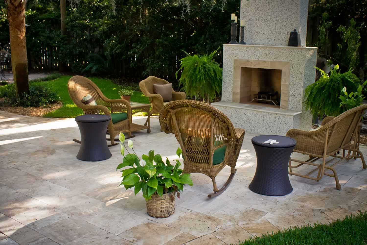 Outdoor Gas Fireplace Installers Hilton Head Island SC