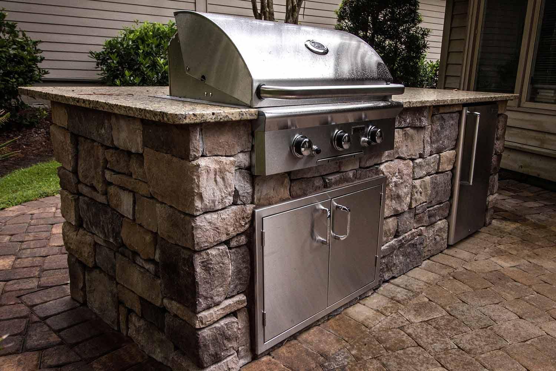 Outdoor Kitchen RESOURCES: - CountertopsKitchen FacingOutdoor Kitchen InstallationOutdoor CabinetsGrills And Accessories