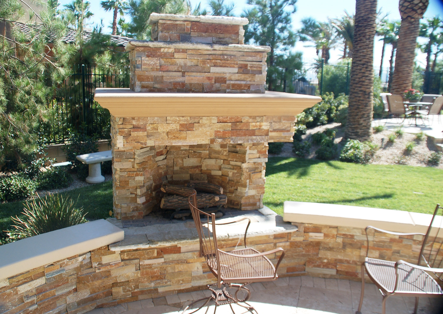 Gas Stone Fireplace Costs Hilton Head Island SC