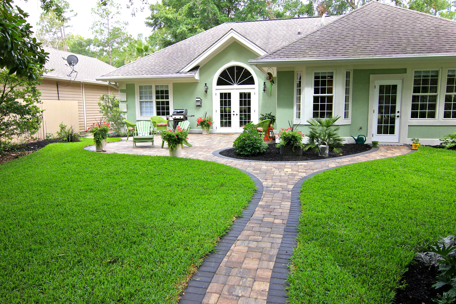 Paver Walkway Designs Hilton Head Island SC