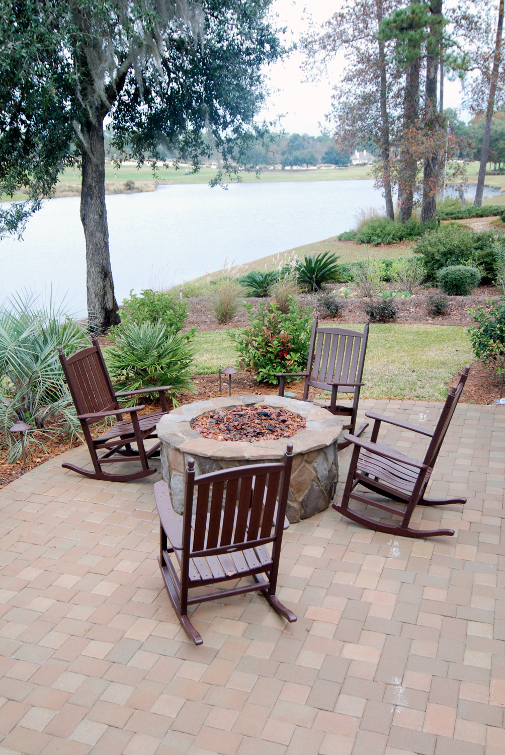 Patio Gas Fire Pit Designs Bluffton, SC