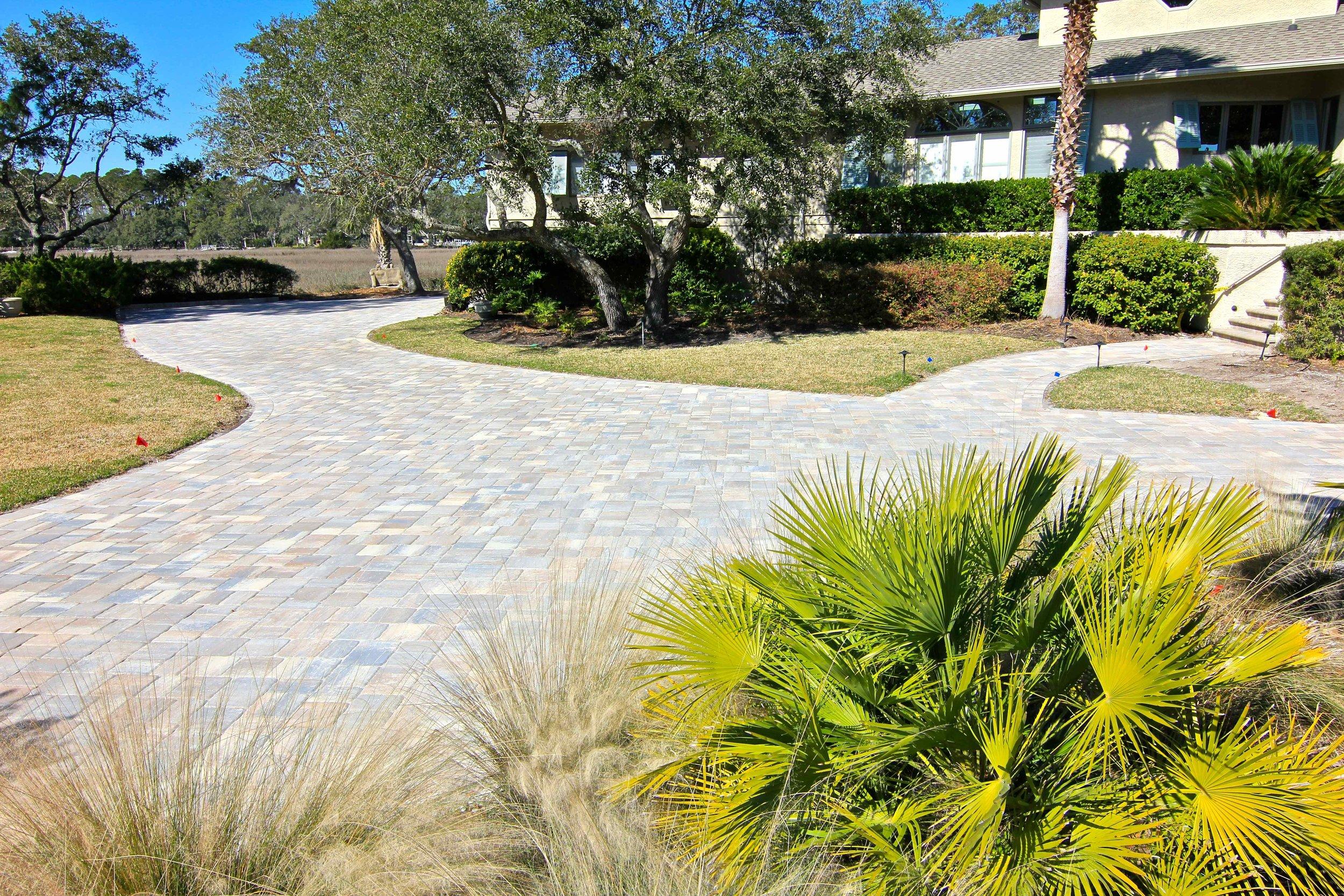 Sea Pines Hilton Head Brick Driveway