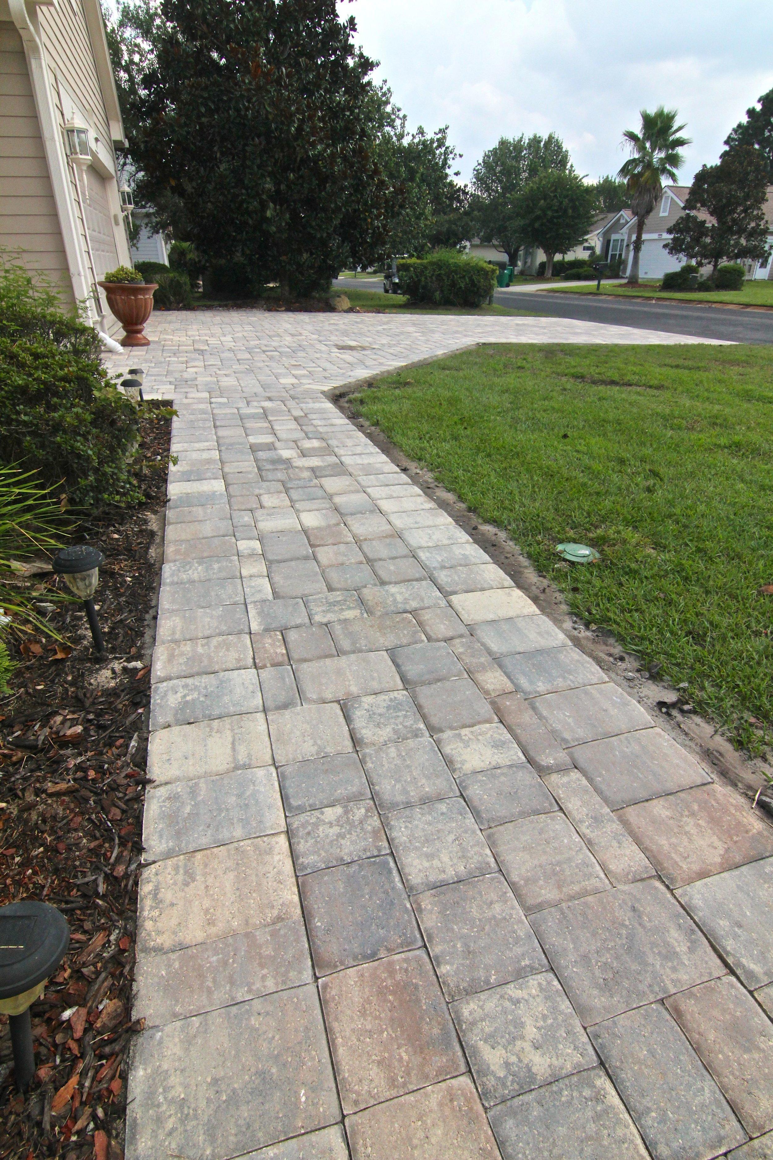 new paver driveway Bluffton SC