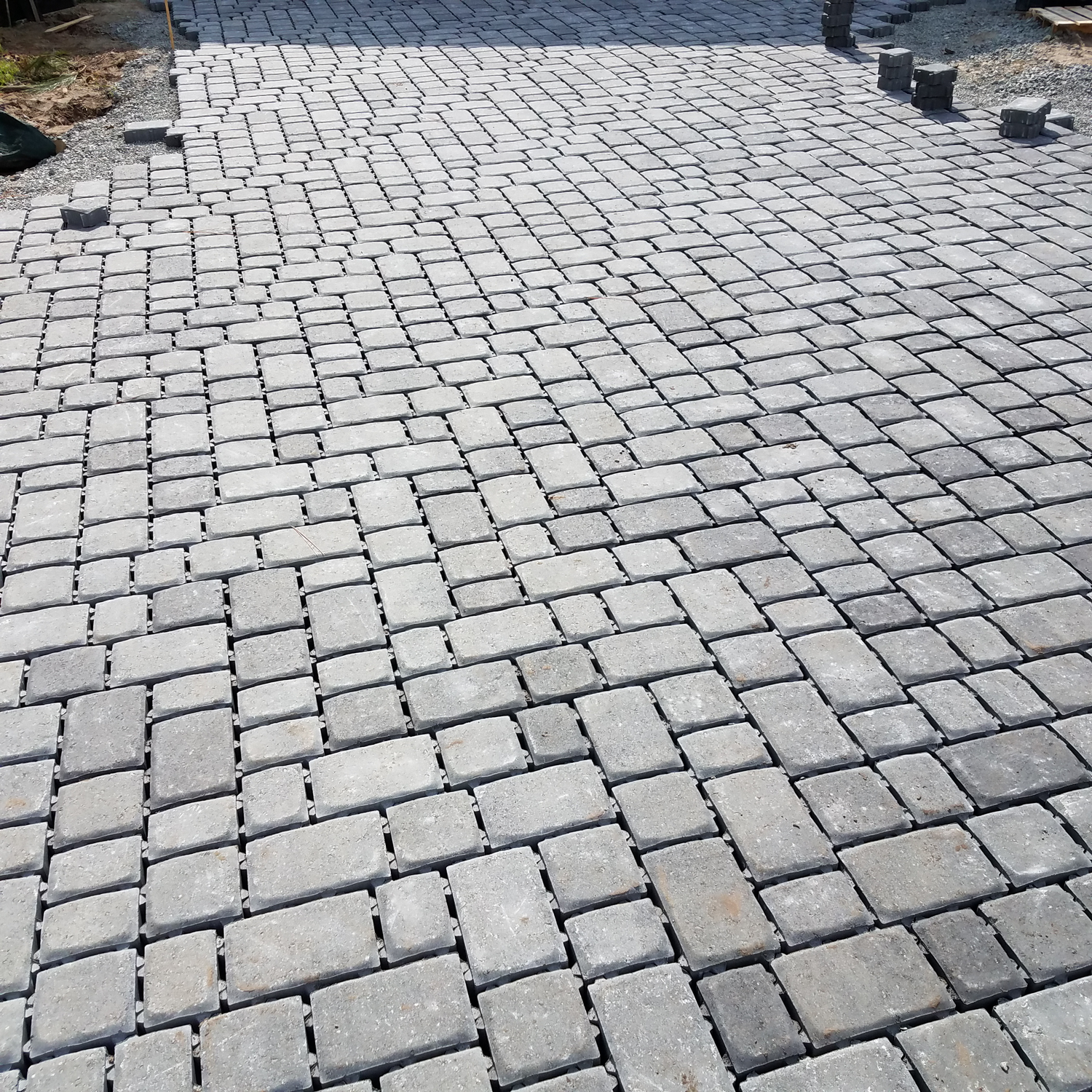 Permeable pavers come in all different sizes, styles, shapes, and colors; come talk to us to find the one that works for you!