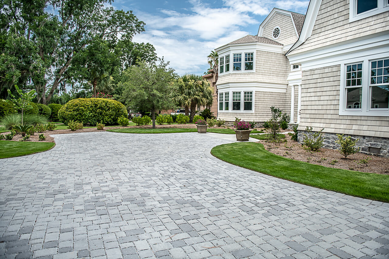 Installing Permeable Pavers on your Driveway - Bluffton, SC