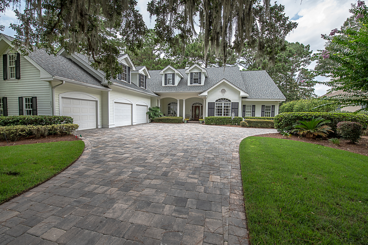 Install Brick Pavers on YOUR Driveway Today. .Get Inspired, and visit our Paver Driveway Gallery! -