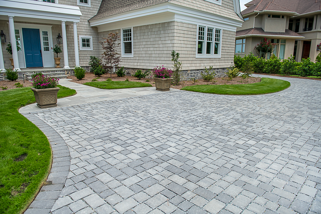 Eco-Friendly Permeable Paver Installer