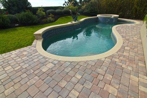 Hilton Head Island SC | Pool Deck Design | What is Pool Coping? Pool ...