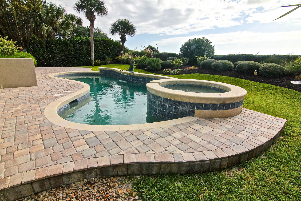 Pool Deck Remodel Coping Installation