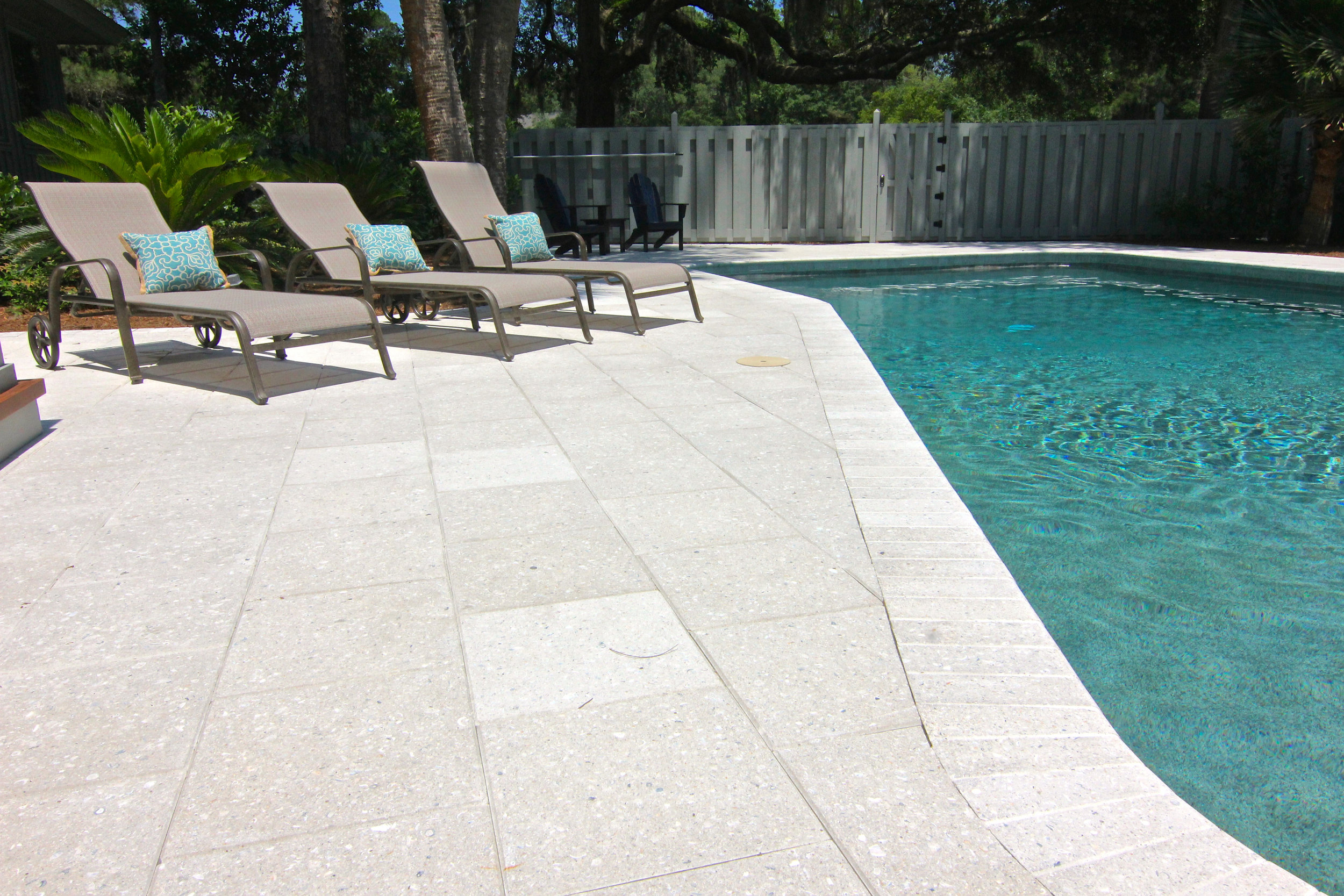 Paver Pool Deck Coping Installer