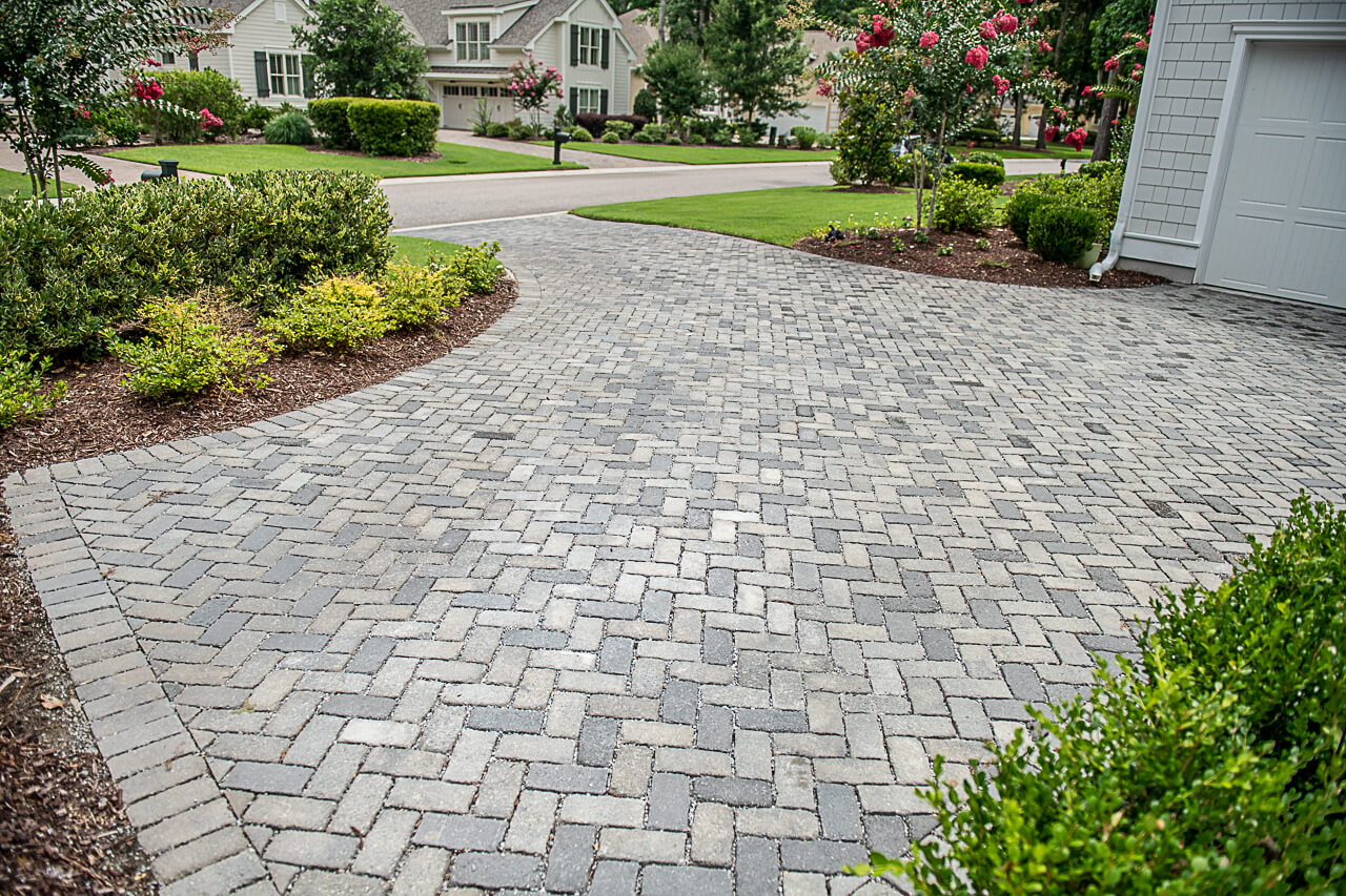 Permeable Paver Driveway Ideas - Bluffton, SC