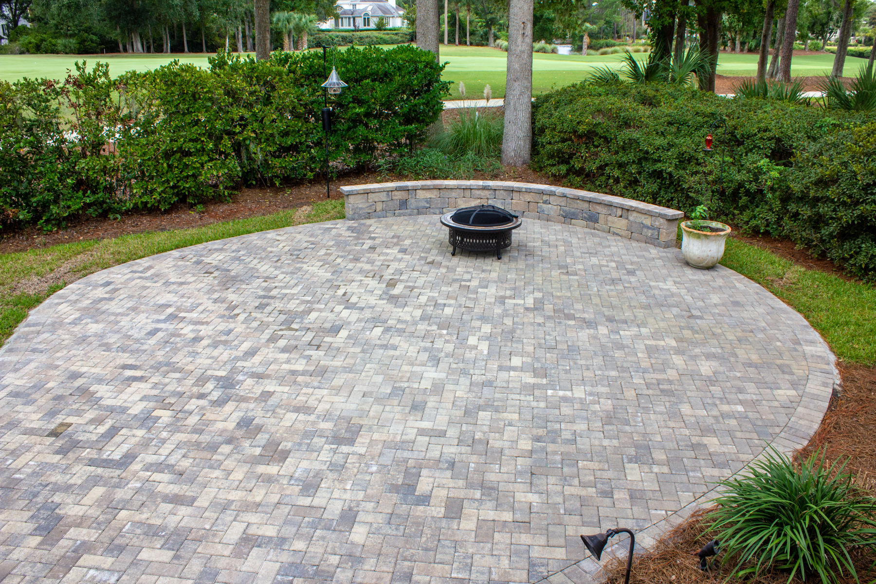 Pavers offer:  a unique way to customize your homes Outdoor Living space. With installation in less than a week, what could be better?!