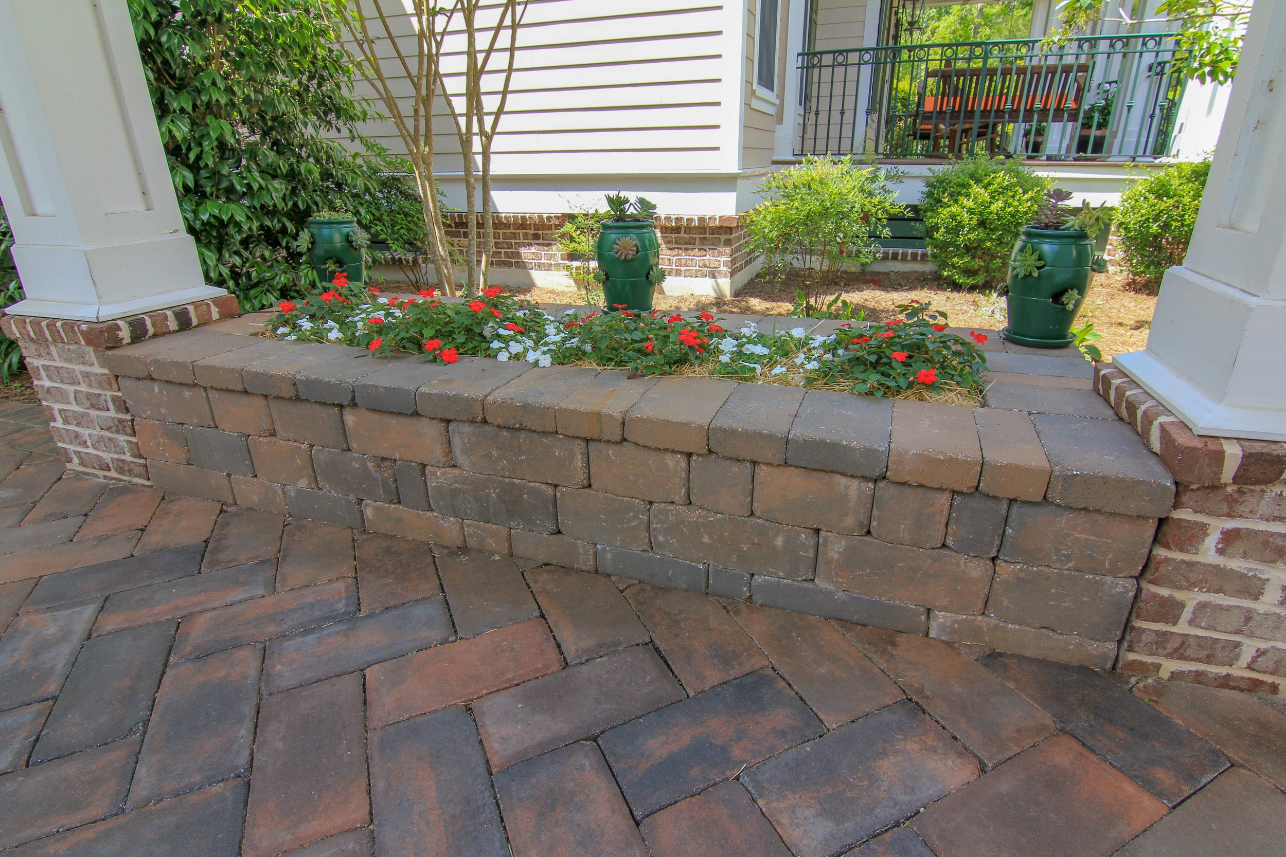 How To Use Wall Block For Garden Planters- Okatie, SC