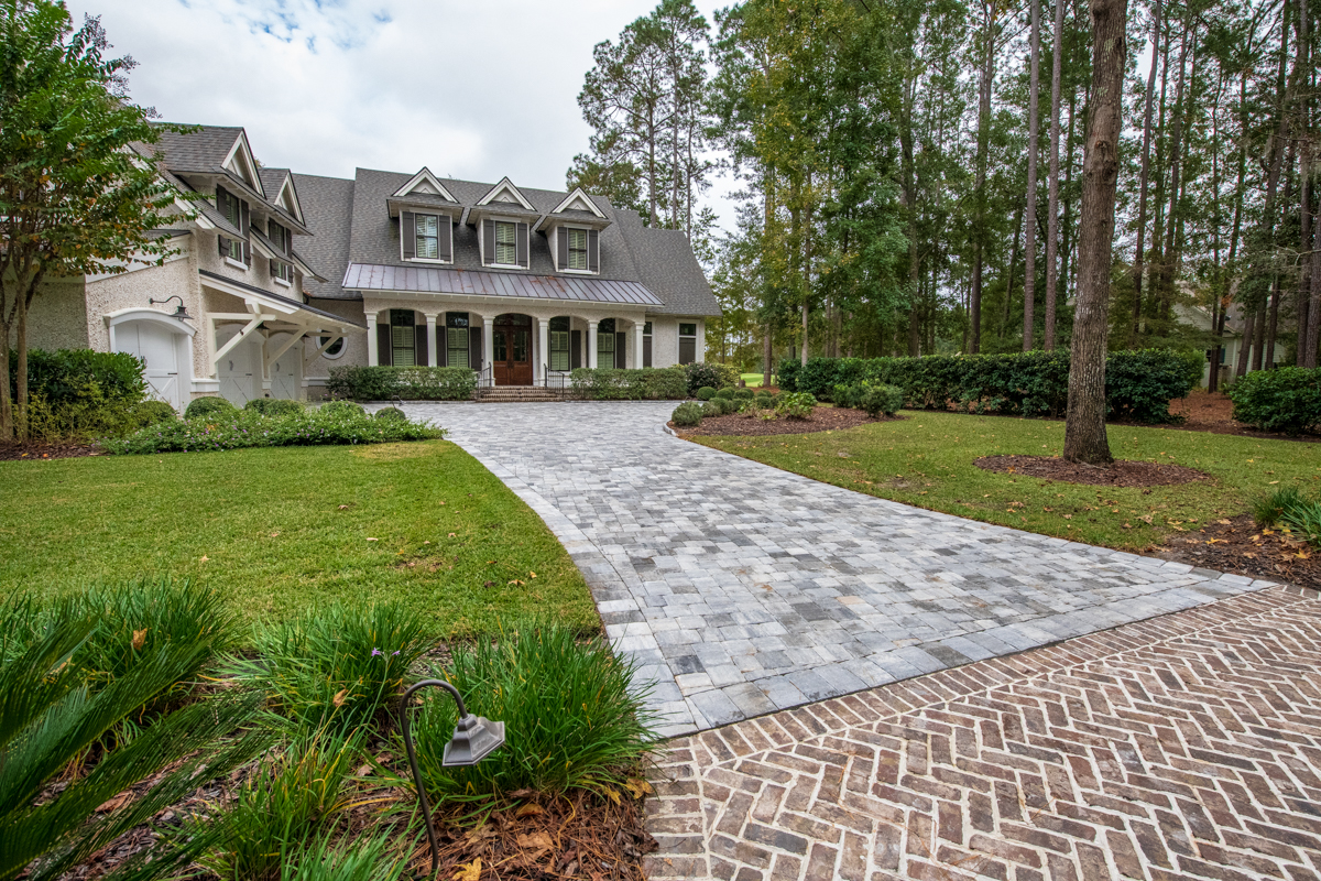 Deciding To Use Brick Pavers Instead Of Poured Concrete Can Be An Increase In Cost - But The Versatility of Pavers Vs. Concrete Is Highly Unmatched!