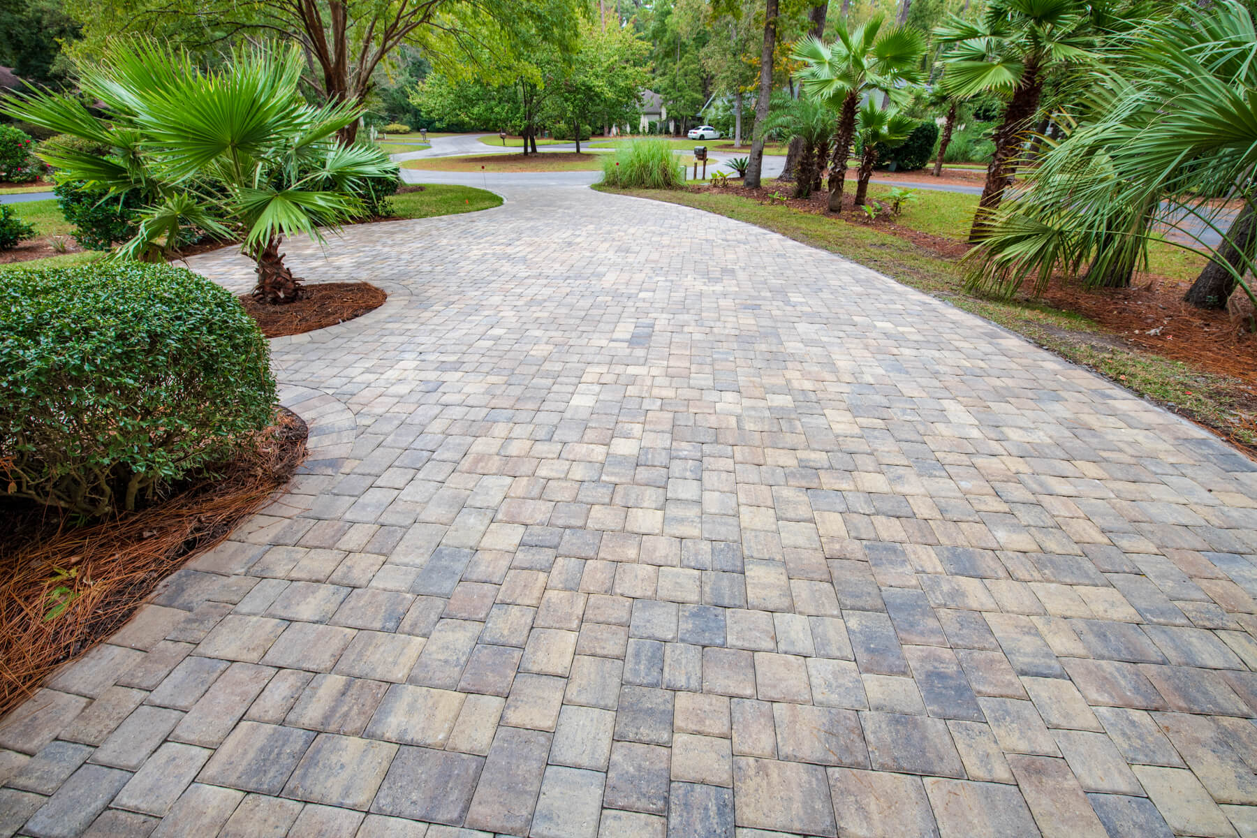 Update Your Home's Exterior - Install Concrete Brick Pavers