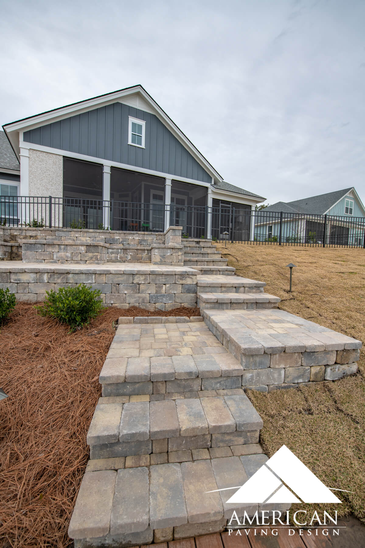 Brick Paver Step Design - Bluffton, SC