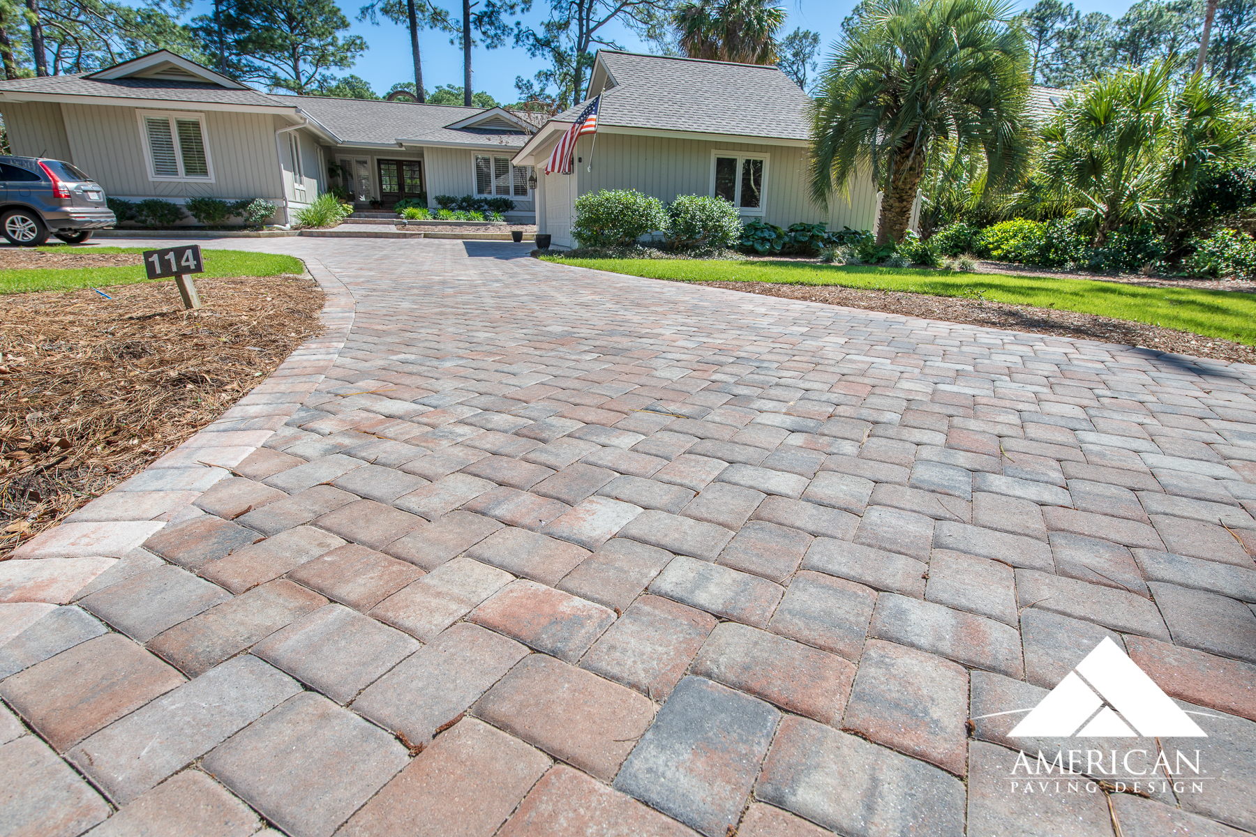 Welcome Home! New Paver Driveway Installation