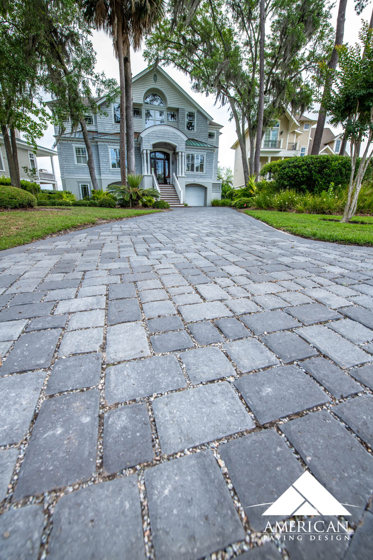 Permeable Paver Driveway Design - Bluffton, SC